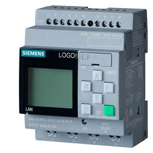 poza RELEU INTELIGENT LOGO! 8DE/4DA 12/24V CU DISPLAY ETHERNET PORT  6ED1052-1MD08-0BA0