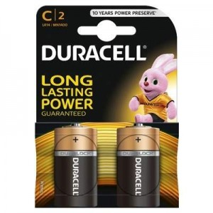 poza DURACELL BATERIE ALCALINA C (R14) B2