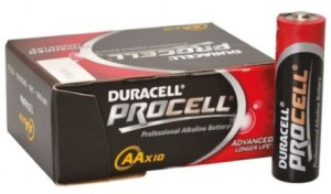 poza DURACELL BATERIE ALCALINA AA (R6) PROCELL