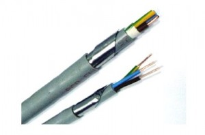 poza Cabluri de energie Cupru 3x2,5 mm² cu izolaţie şi manta de PVC, armate cu bandă de oţel