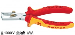 poza Cleste VDE 160 mm pentru dezizolat cabluri sectiune 03-10 mm   11 06 160